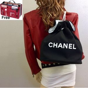 FREE organizer + Channel toiletry bucket bag